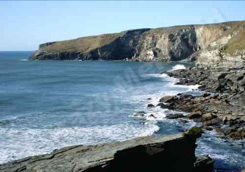 Trebarwith bay