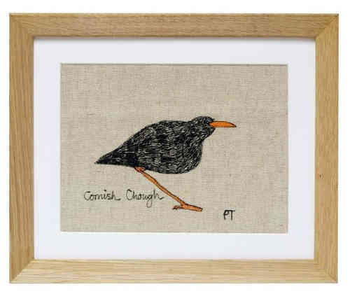 Cornish Chough Framed Picture