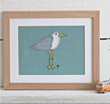 Seagull Framed Picture