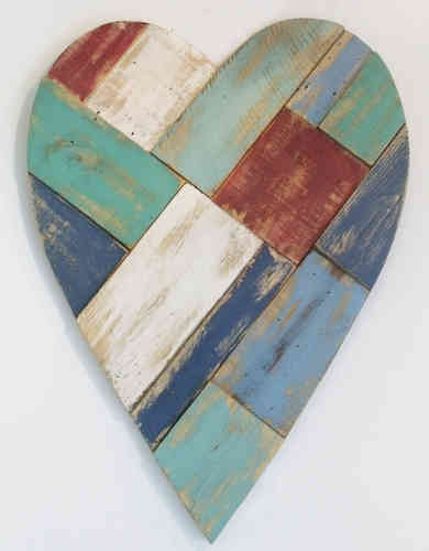 Patchwork Wall Heart